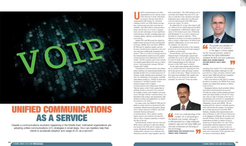 Unified Communications - Pramod Kurian