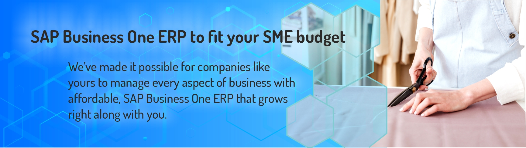 One ERP to fit your SME budget